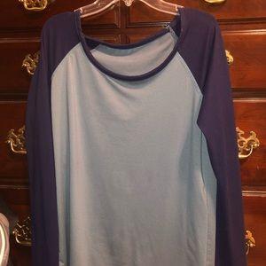 Soft blue/grey long sleeve